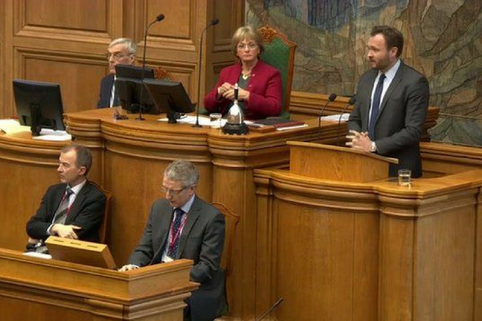 Danish Parliment